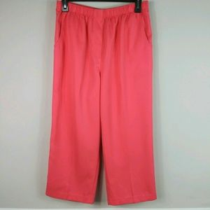 Kim Rogers Cropped Casual Pants Size 12